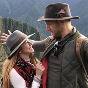 Julianne Hough, Brooks Laich, Machu Picchu